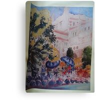 Early Summer, Los Angeles campus Canvas Print
