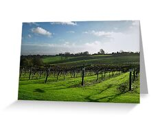 English Vineyard Greeting Card