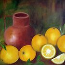 Still Life, Oil Painting by Esperanza Gallego