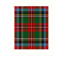 00154 The Carolina's Tartan Art Print
