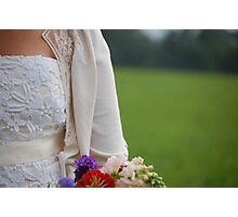 lace and cardigan Photographic Print