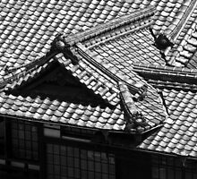 Dogo Onsen Roof by DoctorPedro