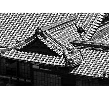Dogo Onsen Roof Photographic Print