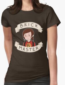 Ellie-Brick Master Womens Fitted T-Shirt