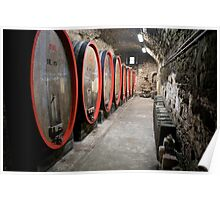 Tuscan Winery Poster