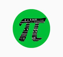 Green and Black Pi Unisex T-Shirt