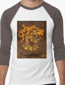 Dhalsim 25 Men's Baseball ¾ T-Shirt