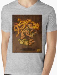 Dhalsim 25 Mens V-Neck T-Shirt