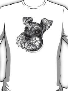 Ornate Schnauzer T-Shirt