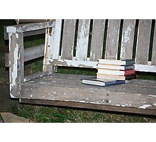 summer reading Photographic Print
