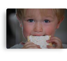 toaster pastry Canvas Print