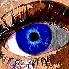 Blue Eye by colleen e scott