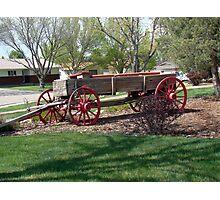 Colorado Wagon Photographic Print
