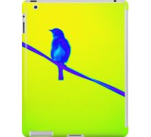Bluebird on Wire iPad Case/Skin