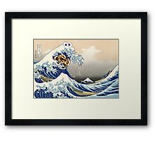 The Great Cookies off Kanagawa Framed Print