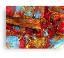 Igneous Rocks Canvas Print