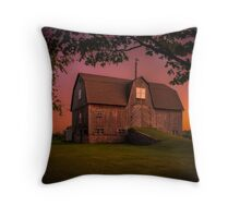 Port Dalhousie Barn Throw Pillow