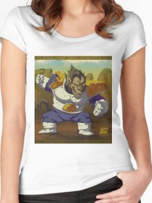 Ozaru Vegeta Women's Fitted Scoop T-Shirt