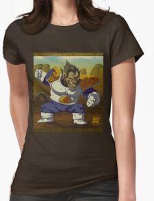 Ozaru Vegeta Womens Fitted T-Shirt