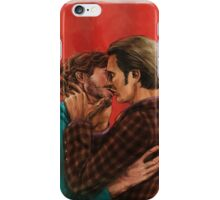 Hook, line and sinker iPhone Case/Skin