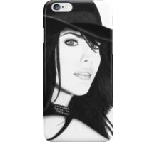 Liv Tyler Pencil Drawing (Lord of the Rings actress) iPhone Case/Skin