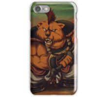 Sanzoku Kuma iPhone Case/Skin