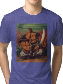 Sanzoku Kuma Tri-blend T-Shirt