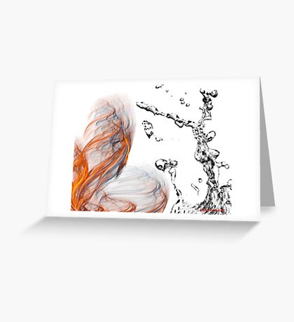 fire chaser Greeting Card