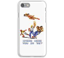 Rage in 1992 iPhone Case/Skin