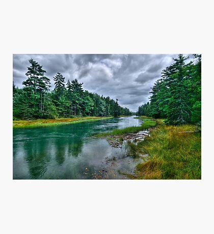 Serenity Before Storm - Maine Photographic Print