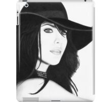 Liv Tyler Pencil Drawing (Lord of the Rings actress) iPad Case/Skin