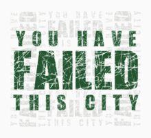 Arrow - You Have Failed this City Baby Tee