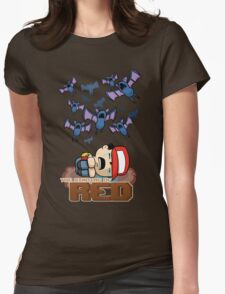The Binding of Red Womens Fitted T-Shirt