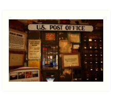 THE UNITED STATES  POST OFFICE Art Print