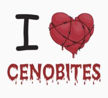 I Love (Heart) Cenobites. Kids Tee