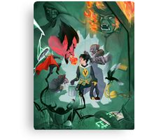 Journey into Misery Canvas Print