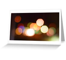 Milford Lights Greeting Card
