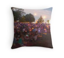 LIGHT SHOW 1 Throw Pillow