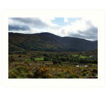 Under the  Macgillycuddy Reeks - Killarney, Kerry, Ireland Art Print