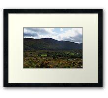 Under the  Macgillycuddy Reeks - Killarney, Kerry, Ireland Framed Print