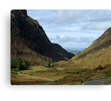 Gap of Dunloe, Killarney, Kerry, Ireland Canvas Print