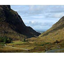 Gap of Dunloe, Killarney, Kerry, Ireland Photographic Print