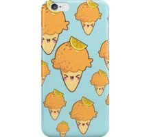 Ice cream orange iPhone Case/Skin