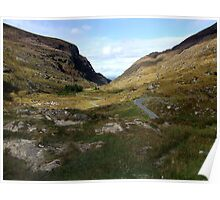 Road through the Gap of Dunloe, Killarney, Kerry, Ireland Poster