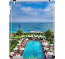 Montage Resort Pool View  iPad Case/Skin