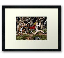 Li'l Red Framed Print