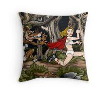 Li'l Red Throw Pillow