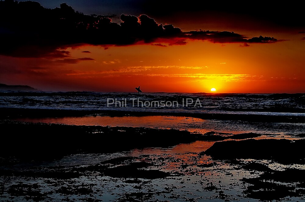 """Sunrise Surfer"" by Phil Thomson IPA"