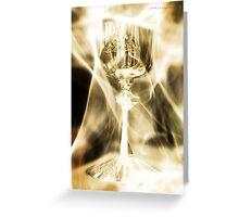 Chalice Eruptus © Vicki Ferrari Greeting Card