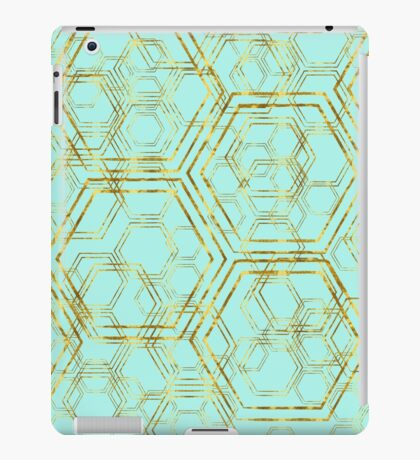 Hexagold iPad Case/Skin